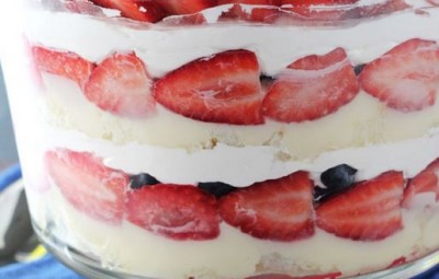 Triple Berry Trifle - Life Love and Sugar