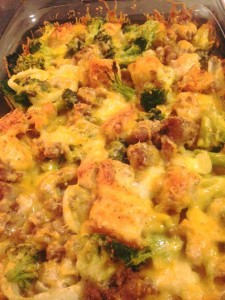 Sausage and Broccoli Casserole