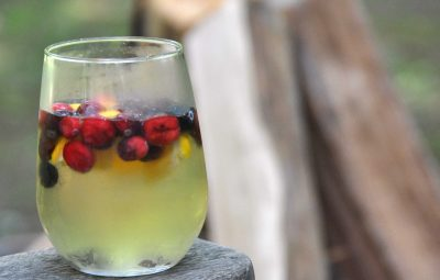 Summer Sangria - Fresh from the garden
