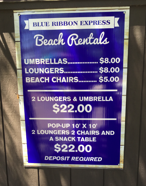Moreau State Park - prices