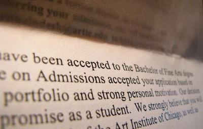 Acceptance Letter - fund college