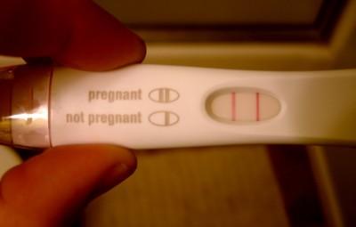 Positive Pregnancy Test Result