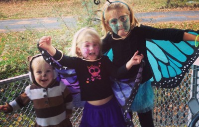 DIY Kids Halloween Costumes - Butterfly